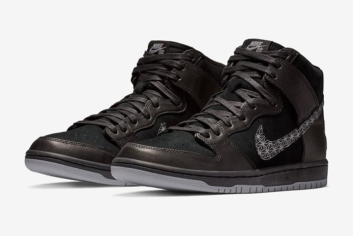 Black Bar Nike Sb Dunk High 1