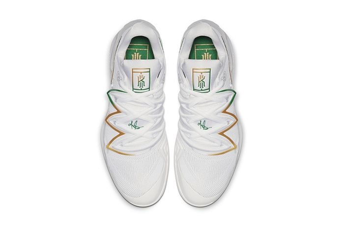 Nike Vapor X Kyrie 5 Wimbledon Release Date Top Down