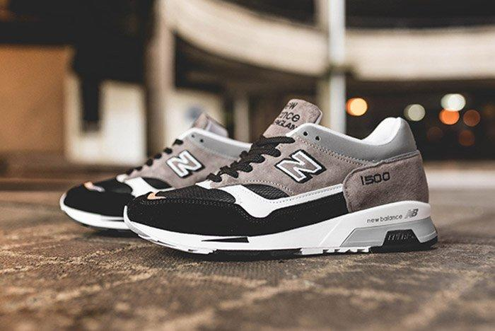 New Balance 1500 Made In England (Grey And Black) - Sneaker ...