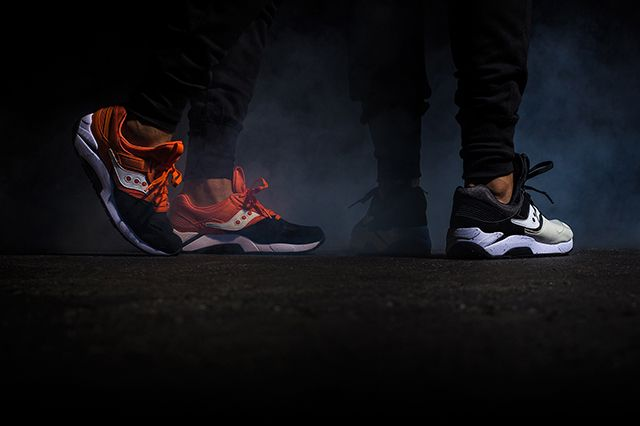 Saucony Grid 9000 Hallowed Pack 2