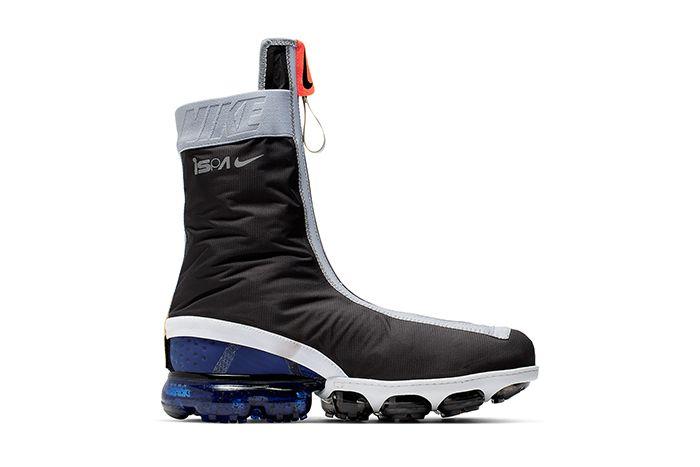 Nike Vapormax Gator Ispa Black White Ar8557 002 Release Date Medial