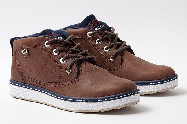 Brown Blue Leather Keston 1