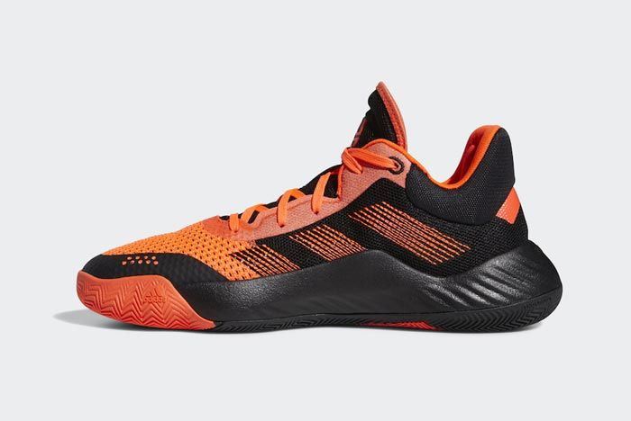 Adidas Don Issue 1 Solar Red Core Black Medial