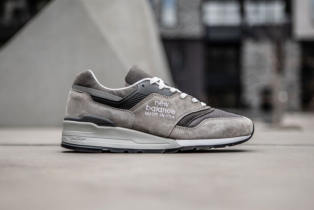 New Balance Grey Day Made 997 997S Sneaker Freaker 1