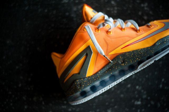 Nike Lebron 11 Low Atomic Mango Bump 4