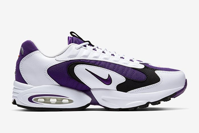 Nike Triax 2 White Purple Right