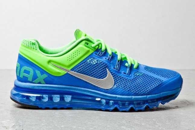 Nike Air Max Plus 2013 Blue Lime 1 1
