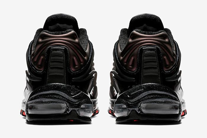 Nike Air Max Deluxe Se Black Anthracite Bright Crimson 4