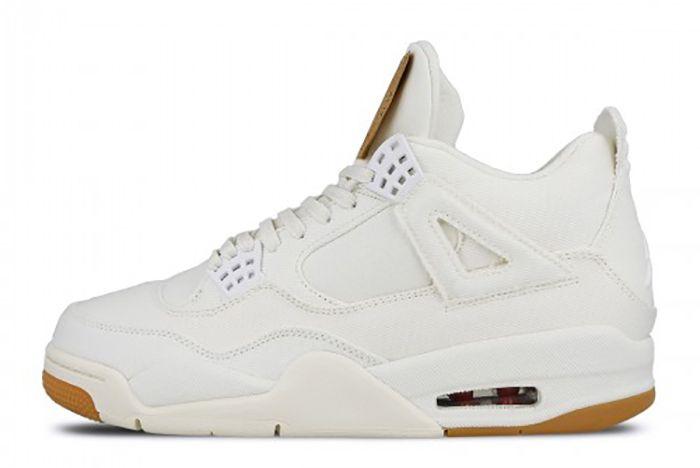 Levis Jordan 4 On Foot 7