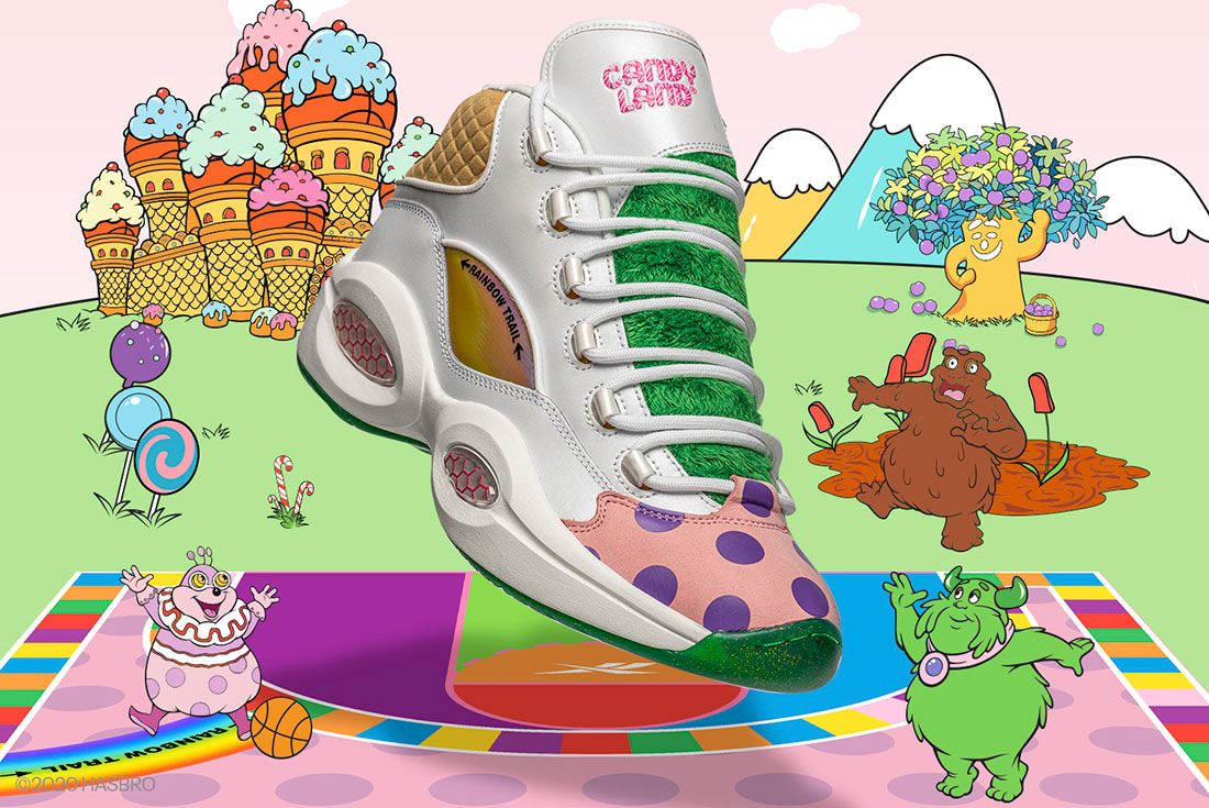 Candy Land Reebok Classic Collection