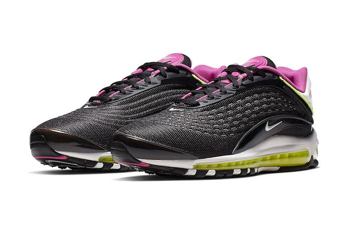 Nike Air Max Deluxe Black Pink Volt White Aj7831 005 Release Date Pair