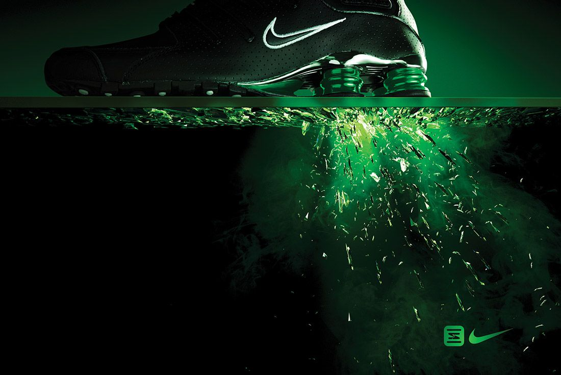 Material Matters Nike Shox Big Ad 2
