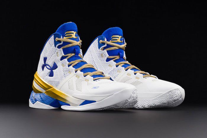Under Armour Curry 2 Gold Rings 2
