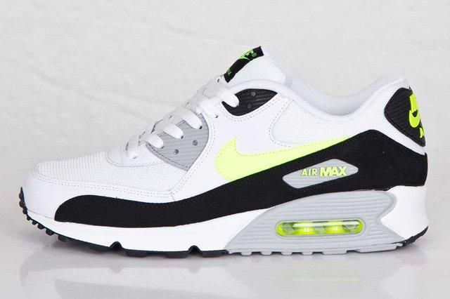 Nike Air Max 90 White Volt 3