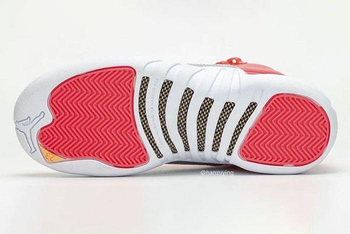 Air Jordan 12 Gs Hot Punch 510815 601 Release Date Pricing 7 Sole