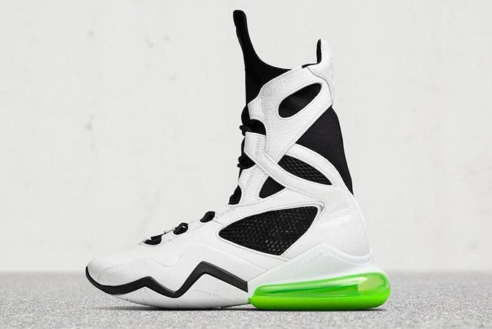 Nike Air Max Box Wmns White Lateral Side Shot