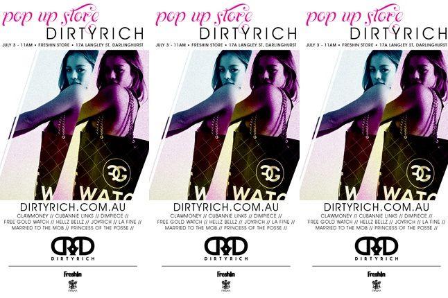 Dirtyrich Flyer 1
