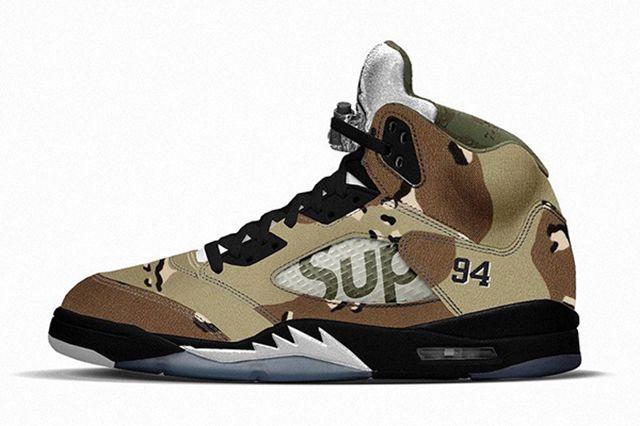 Supreme X Air Jordan 5