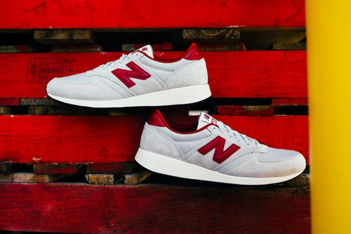 New Balance 420 Revlite Grey Red 3