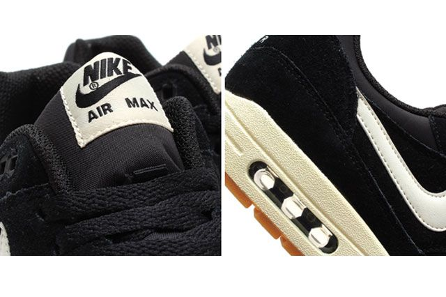 Air Max 1 Essential Blk Detail