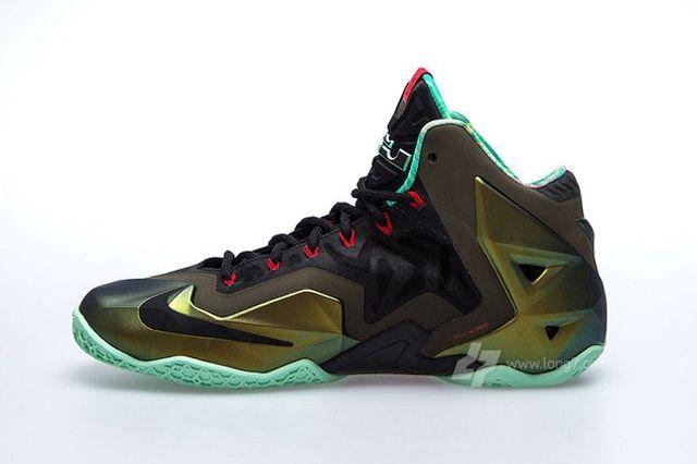 Nike Lebron Xi 11 Parachute Gold Update 1