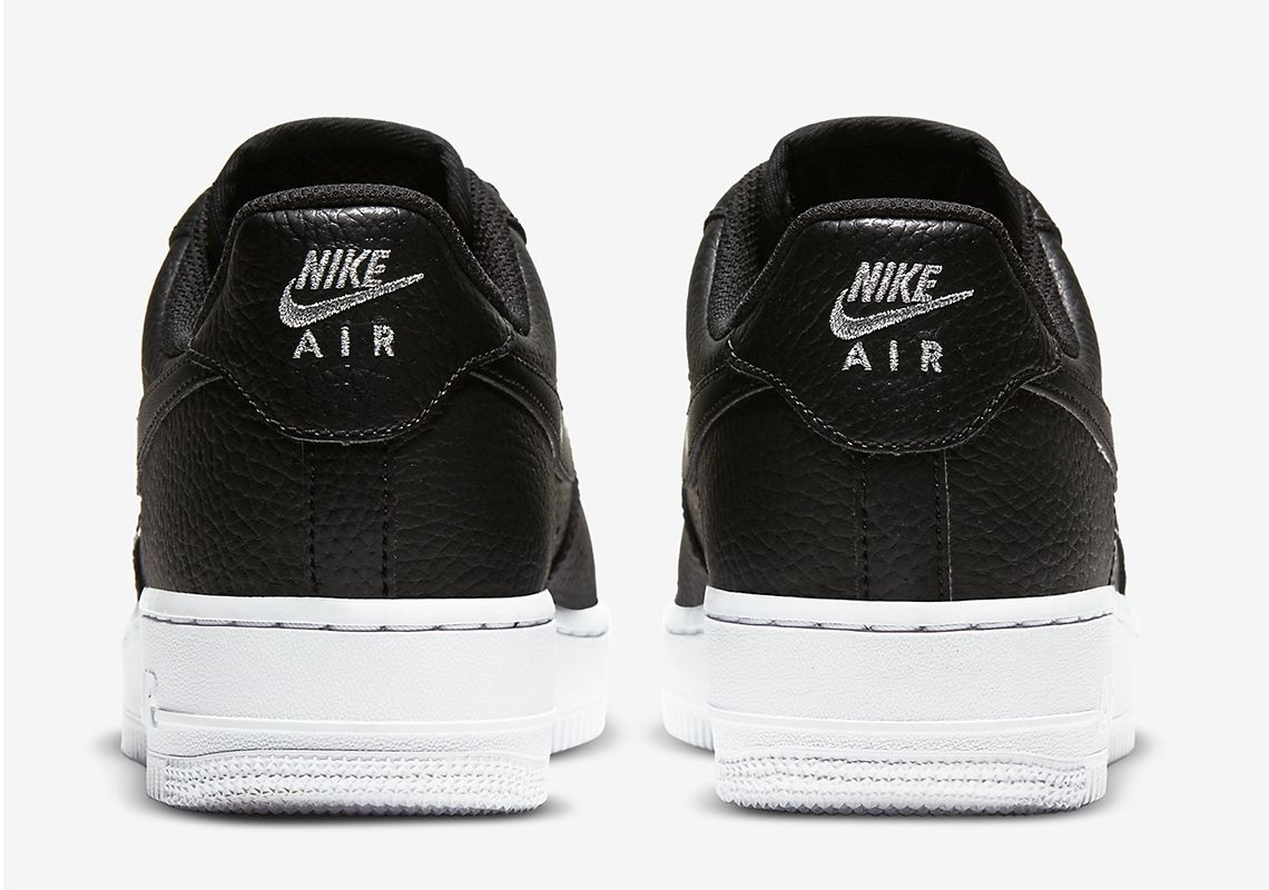 The Nike Air Force 1 Black White
