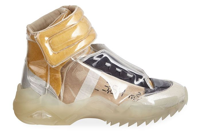 Maison Margiela New Future Laminated High Top Right View