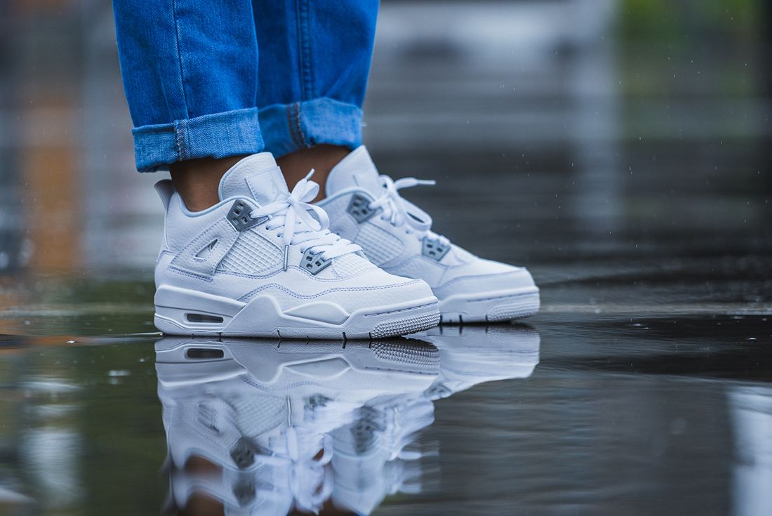 Up Close With The Air Jordan 4 Pure Money2