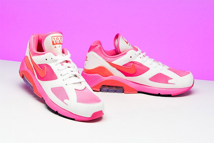 Comme Des Garcons Nike Air 180 Pink 6