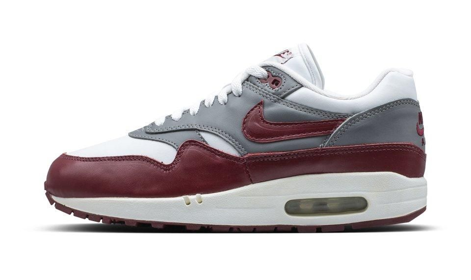 Air Max 1 Leather 22 Burgundy22 2