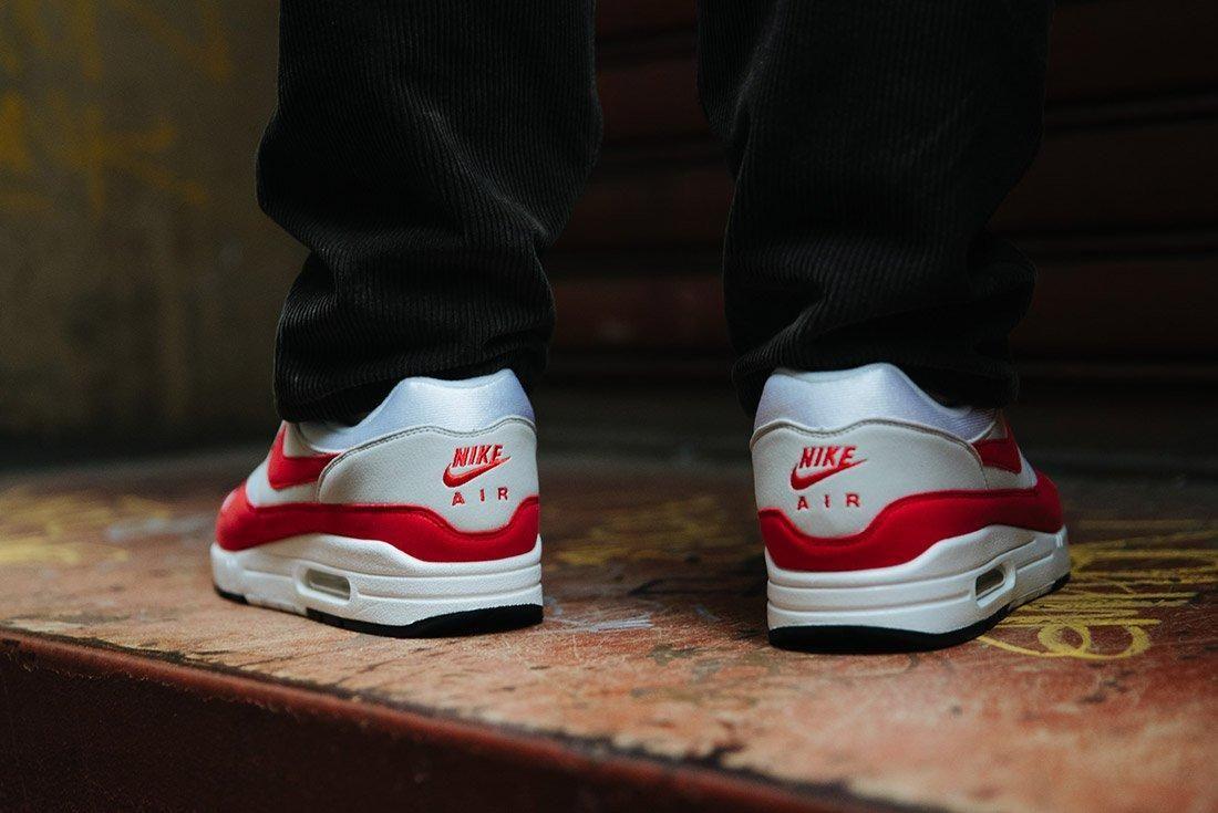 Nike Air Max 1 Anniversary Og Red White 14
