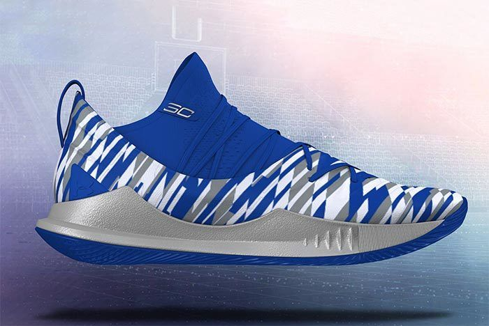 Ua Curry 5 Custom Sneaker Freaker