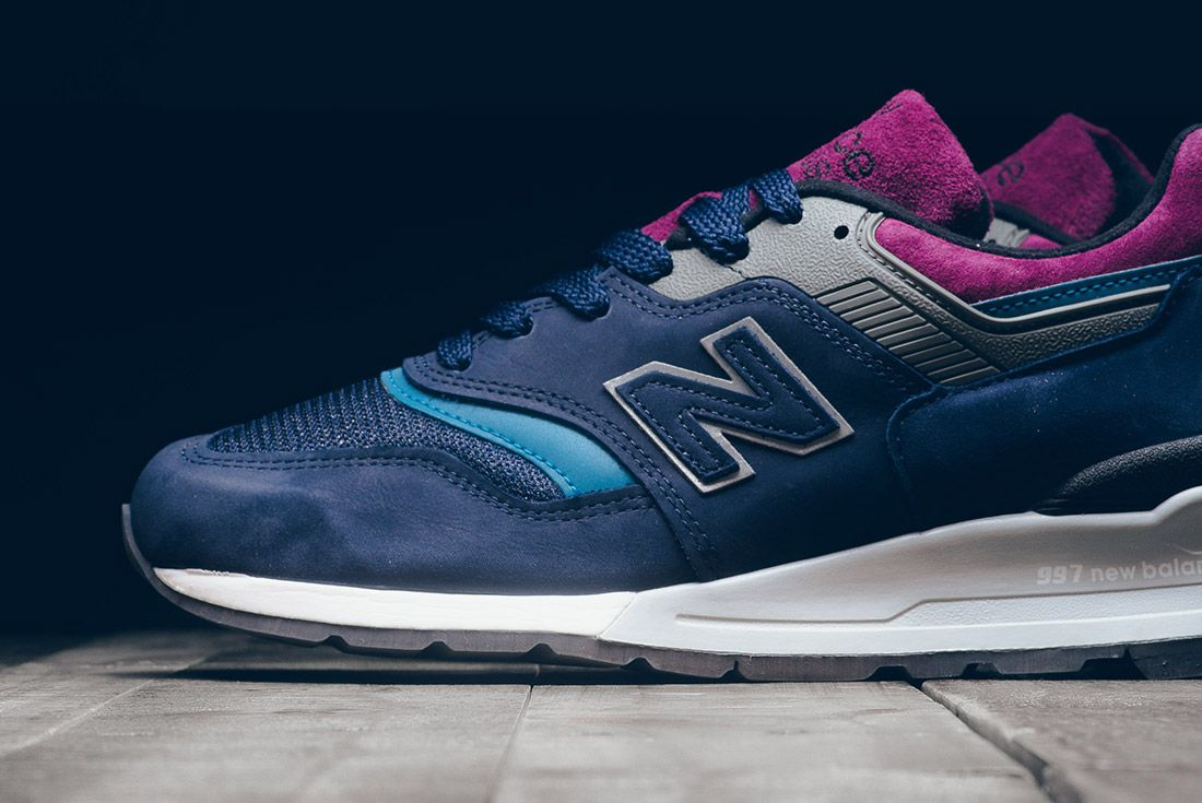 New Balance 997 Ptb Navy Grey 4