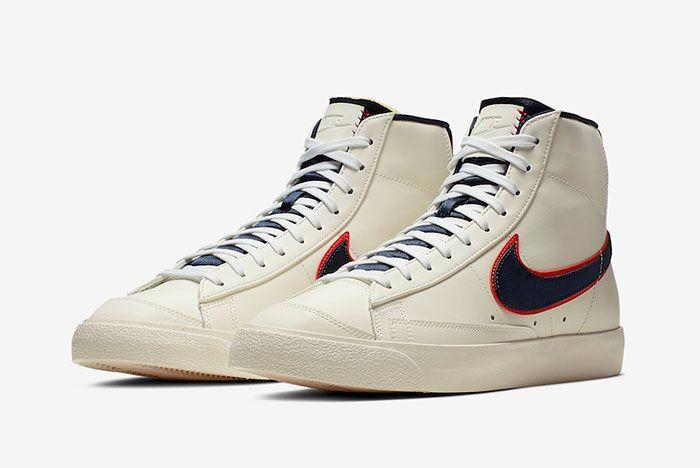 Nike Blazer Mid 77 Vintage City Pride Cd9318 100 Release Date 4 Pair