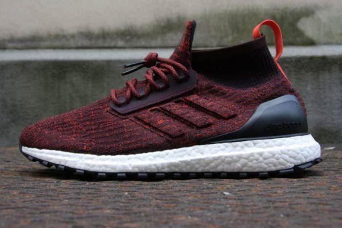 Adidas Ultraboost Mid Atr Burgundy 7