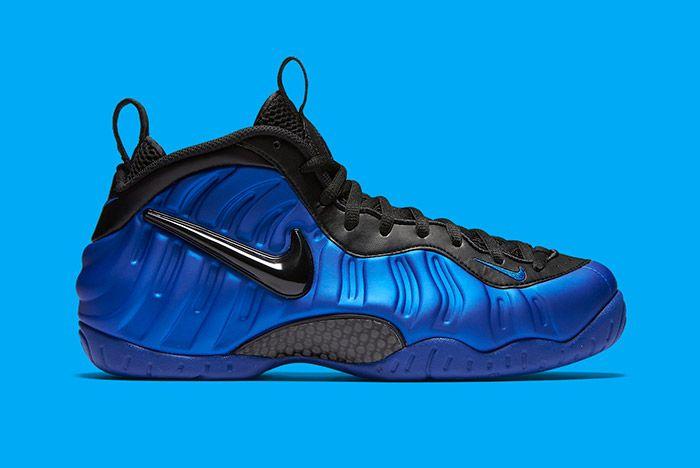 Nike Foamposite Pro Hyper Cobalt Ben Gordon 1