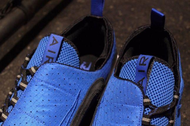 Nike Air Footscape Motion Blue Black Tongue Detail 1