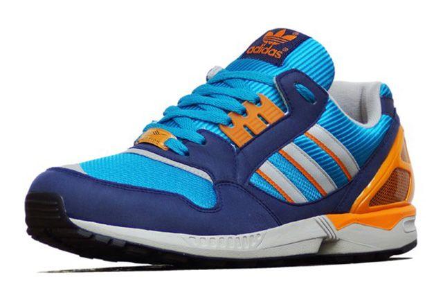 Adidas Zx 9000 Turquoise Orange 1