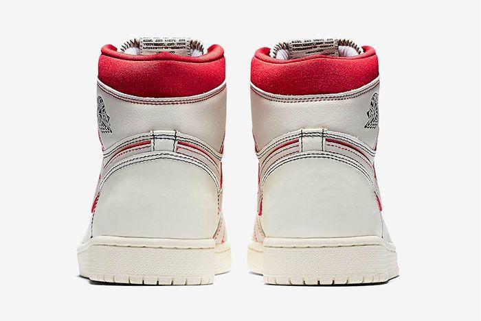 Air Jordan 1 Sail University Red 555088 160 Release Date Price 5