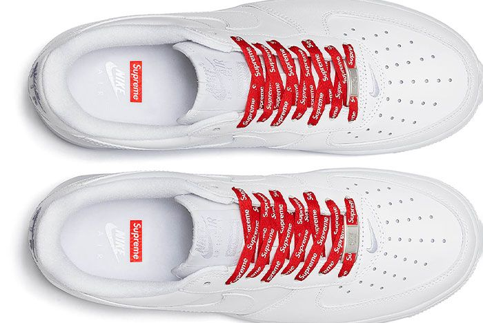 Supreme Nike Air Force 1 Low White 2020 Release Date 2