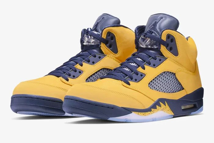 Air Jordan 5 Michigan Toe