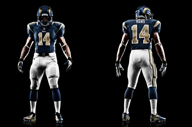 St Louis Rams Uniforms 1