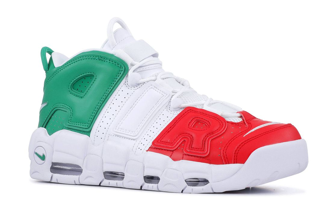 Nike Air More Uptempo Italy Angled