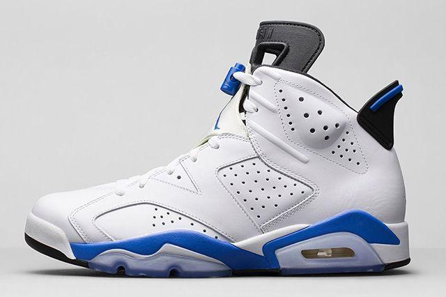 Air Jordan 6 Sport Blue 4