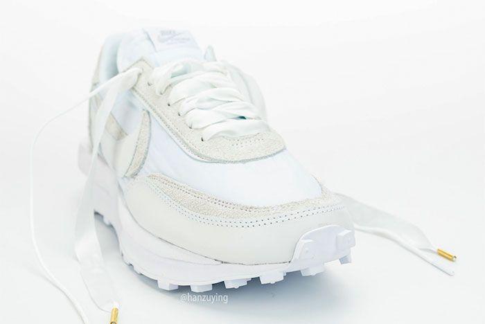 Sacai Nike Ldwaffle White Nylon Toe