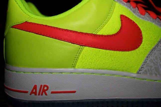 Air Force 1 Sneakerbox Clyde High Vis 4 1