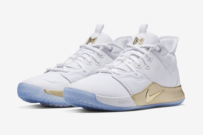 Nike Pg 3 Nasa Apollo Missions White Gold Release Date Pair