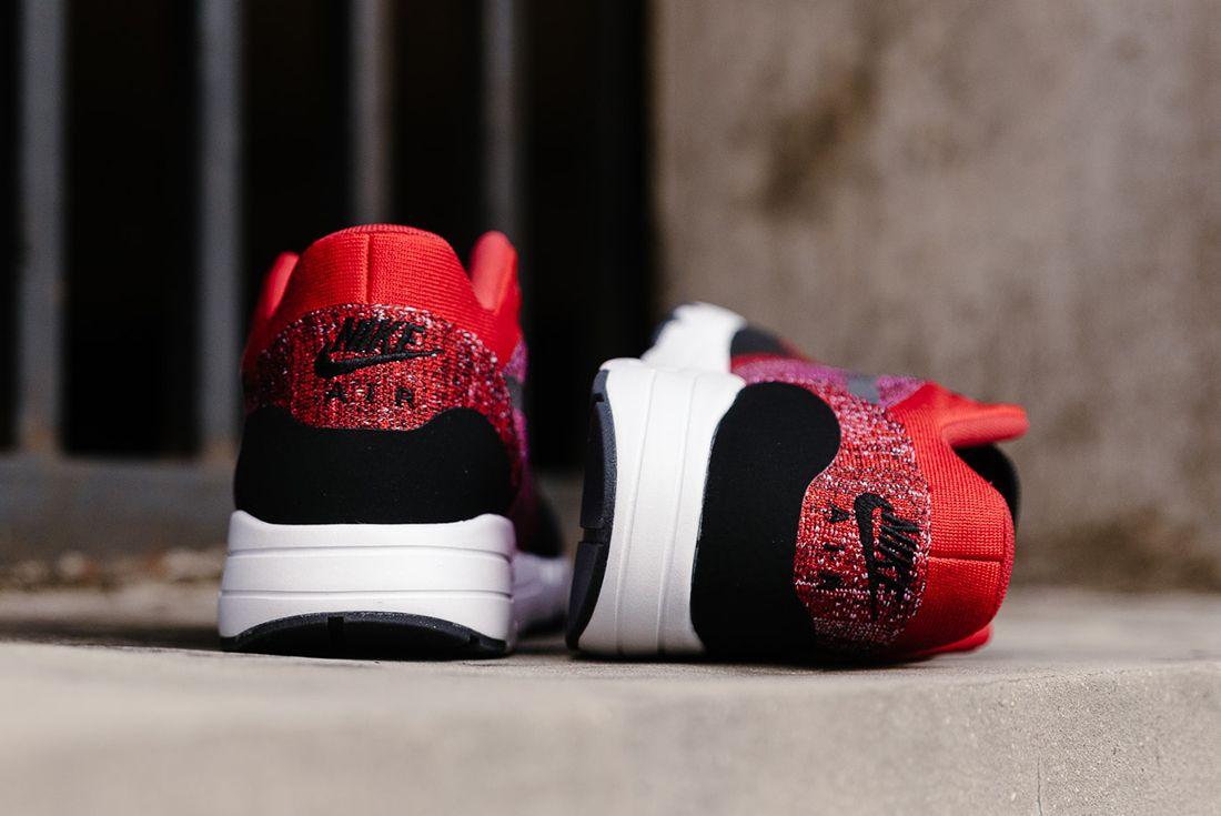 Nike Air Max 1 Ultra 2 0 Flyknit University Red Black4