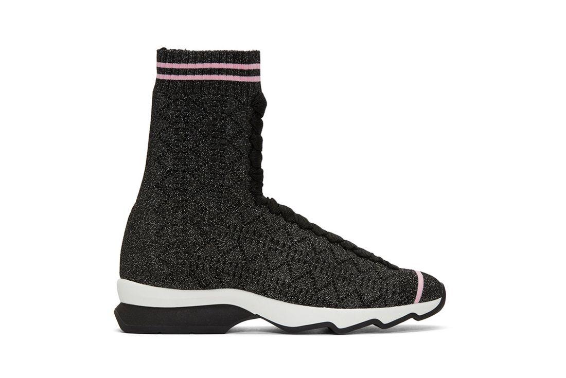 Fendi Pink Sock Sneaker Freaker 8
