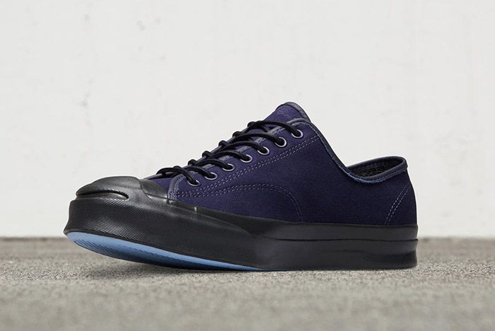 Converse Jack Purcell Signature Low Shield Canvas Navy 2
